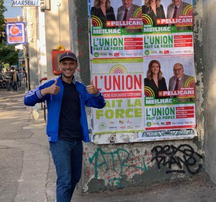 #12eCanton : Ecole de la Roseraie – Affichage – Bureaux de vote – enregistrement de vidéos le quotidien de la campagne !