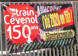 (49) #Marseille mandature 2020/2026 : Inauguration de l'exposition «Train Cévenole 150 Ans» dans le CMA Chanterelle 13001 Marseille – Prochain Rendez-vous dimanche 4 juillet sur le Parvis de la Gare St Charles à 12h00.