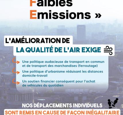 (1)  #ZFE – Zone à Faibles Emissions : Comment une décision peut devenir inégalitaire – On ne peut pas séparer les choix environnementaux des questions sociales !