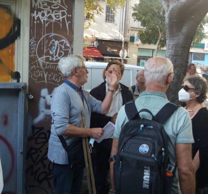 (2) Manifestation le 22 septembre 2021 pour la sauvegarde et valorisation des vestiges  Antiques de la CORDERIE  : près de 100 personnes se sont mobilisées dans la diversité !
