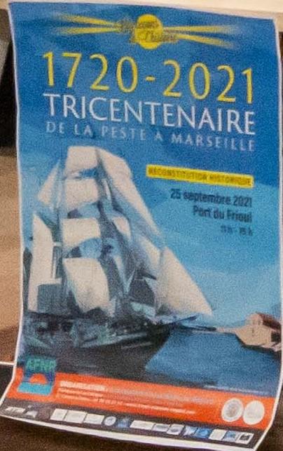 (53) #Marseille mandature 2020/2026 : 1720 – 2021 – Le tricentenaire de la Peste – Reconstitution en costume au #FRIOUL.