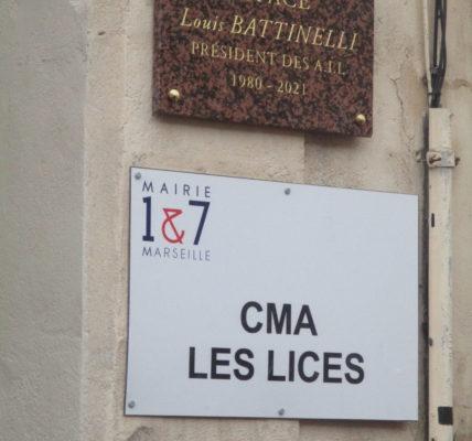 (56) #Marseille mandature 2020/2026 : Le CMA des Lices devient l'Espace Louis BATTINELLI