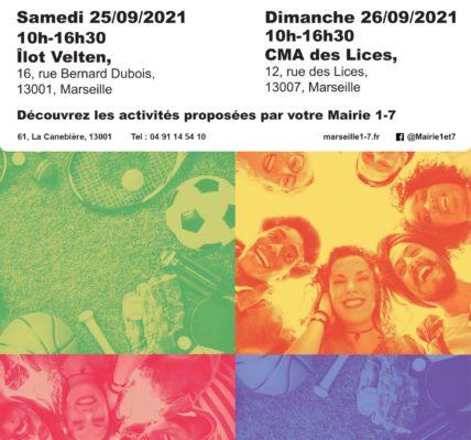 (54) #Marseille mandature 2020/2026 : Hommage à Louis BATTINELLI, Week-end des associations – Le bénévolat occupe les espaces du 1/7 –