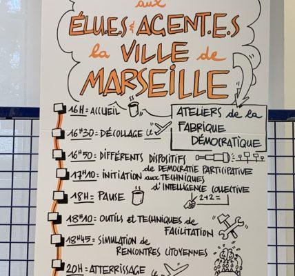 (57) #Marseille mandature 2020/2026 : Atelier de la fabrique démocratique – Elus et Agents de la Ville : Studieux et enthousiastes  –